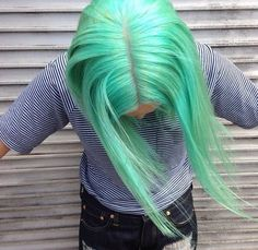 awesome color grunge punk hairstyle
