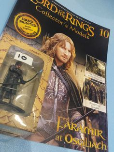 Collectors Hand Painted Lead Model Magazine LOTR Eaglemoss 10 Faramir Osgiliath in Collectables, Fantasy/ Myth/ Magic, Lord of the Rings/ Tolkien   eBay