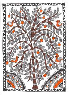 Madhubani Paintings - madhubani artist - Picasa Web Albums