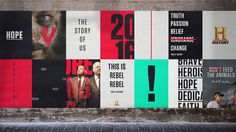 History by DixonBaxi — The Brand Identity