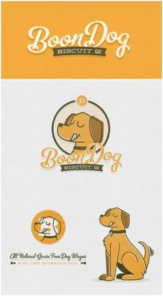 Joel Felix - Boon Dog Biscuit Co. - Boon Dog BiscuitCo. #logo #design