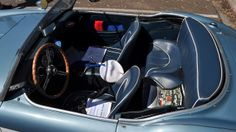which has a smaller and more useless back seat? The Austin Healey 3000, or the Morgan 3 wheeler? You can't fit anyone over the age of 3 in e...