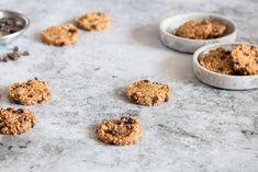 Cookies mit Hirse und Quinoa - Mit selbstgemachtem Bananeneis