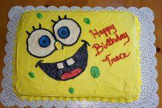 half sheet spoongebob cake | Photoset 20,466 of 195,916
