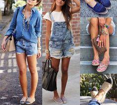 *Alpargatas   *Jardineiras Jeans