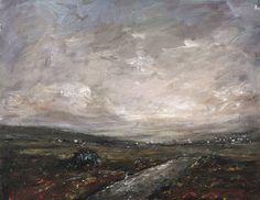 "Irish Art, Original Acrylic Painting of ""The Bog Road"" Irish Art, I Shop, Traditional, The Originals, Painting, Ebay, Shopping, Painting Art, Paintings"
