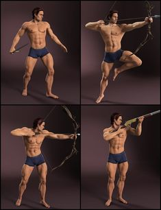 A set of Poses designed for use with the Genesis 2 Male figures including Gianni Michael plus more! The pack contains 20 unique poses in areas like combat, crouch, running, sitting and running. The poses are design to look good from all a Action Pose Reference, Body Reference Drawing, Human Poses Reference, Pose Reference Photo, Action Poses, Anatomy Reference, Poses Dynamiques, Body Poses, Art Poses