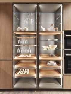 Bathroom storage cabinet cupboards floors 16 New Ideas Kitchen Room Design, Modern Kitchen Design, Home Decor Kitchen, Kitchen Ideas, Ikea Kitchen Storage, Bathroom Storage Units, Crockery Cabinet, Home Bar Cabinet, Glass Kitchen Cabinets