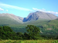 Ben Nevis - took the 'easy' route up & down. Next time, I'll try something a wee bit more challenging