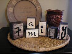 2x4 Block Letters