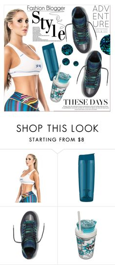 """""""# I/10 Roni Taylor Fitness"""" by lucky-1990 ❤ liked on Polyvore featuring Trimr, Contigo and Deborah Lippmann"""