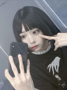 Kawaii Girl, Black Butler, Japanese Culture, Ulzzang, Asian Girl, Goth, Aesthetics, Draw, Random