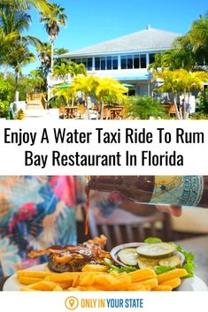 Enter a tropical paradise at the Rum Bay Restaurant in Florida. The gorgeous restaurant sits right upon the water for a serene eating experience, but don't worry if you don't have a boat! The Rum Bay water taxi's will pick you up and take you straight to the restaurant for appetizing pizza or delicious frozen cocktails. Best Bucket List, Frozen Cocktails, Hidden Beach, Swimming Holes, Sunshine State, Tropical Paradise, Natural Wonders, Yummy Drinks, Taxi