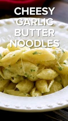Food Recipes For Dinner, Food Recipes Homemade Side Dish Recipes, Lunch Recipes, Pasta Recipes, Breakfast Recipes, Vegetarian Recipes, Dinner Recipes, Healthy Recipes, Garlic Butter Noodles, Buttered Noodles