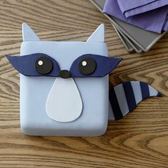 Finally the tables have turned. The raccoon isn't eating your food, you're eating the raccoon! Use Decorator Preferred fondant and icing colors to easily create this little critter.