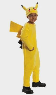 Pokemon Child's Deluxe Pikachu Costume - Amazon Kids http://amzn.to/2eg2q9q