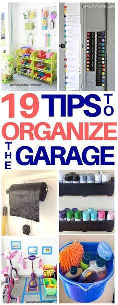 PERFECT! We are doing major garage organization this weekend so these ideas are exactly what I needed! I am definitely using the garage bags hack and great ideas on how to store kids toys. Love these organization hacks that will save tons of space! #organization #lifehacks #garage #garageorganization