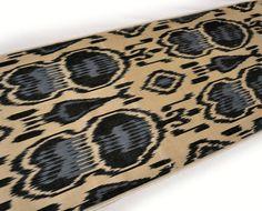 Ikat fabric 3 yard 100 Hand woven by IkatSuzanicom on Etsy, $43.50