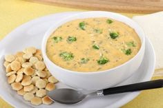 This Broccoli And Cheddar Soup Is Deliciously Creamy And Will Warm You Right To Your
