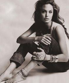 Angelina Jolie. I think I like her a lot more than I realized.