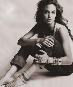 Angelina Jolie. I think I like her a lot more than I realized.
