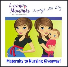 Go From Maternity to Nursing with Loving Moments (Review and Giveaway)
