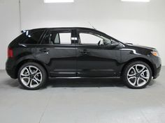 """ford edge sport   22"""" Polished Aluminum Wheels with black spoke accents (Sport)"""