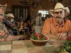 The Bellamy Brothers - Jalapenos.... Heard this song last night and thought it was funny.