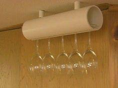 Необычное использование ПВХ труб. Идеи