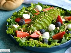 Perfect idea to keep us healthy! Chef Recipes, Vegetarian Recipes, Cooking Recipes, Healthy Recipes, Mozzarella, Snacks, Lunches And Dinners, Deli, Food Styling
