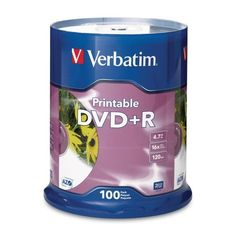 Introducing Verbatim America Llc  Verbatim Dvd Recordable Media  DvdR  16X  470 Gb  100 Pack Spindle  Retail  120Mm Product Category Storage MediaOptical Media. Great product and follow us for more updates!