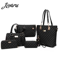 0d7934ba4d37d Women Bag Set for Women 2018 Nylon Shoulder Luxury Handbags Women Bags  Designer Tote Ladies Messenger Bags Cross Body Purses