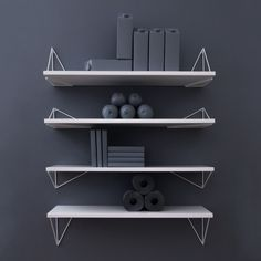 9 Unique Wall Shelves That Make Storage Look Beautiful Unique Wall Shelves, Modern Shelving, Wood Shelves, Shelving Design, Interior Design Programs, Shelving Systems, Shelf Brackets, Design Shop, Maze
