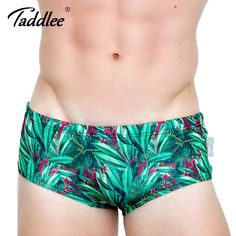 d3187c3e33 Taddlee Brand Men Swimwear Swimsuits Swim Boxer Briefs 2017 New Design  Beach Board Trunks Sexy Men's Swim Bikini Gay 3D Printed-in Men's Trunks  from Sports ...