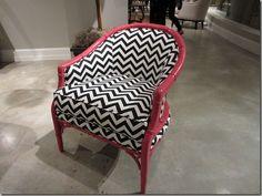 Love this Hooker Furniture Chair. From Pigtown Design blog, Meg Fairfax Fielding. #chairs