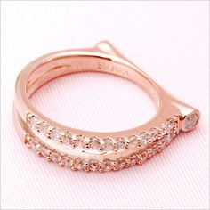 Rakuten: Pinkie ring pink gold & white gold CanCam publication product ★ Cem Kelly 1 - 6- Shopping Japanese products from Japan
