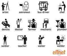 Occupations 1 - Worksheets | EFLnet