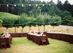Rustic Outdoor Wedding.
