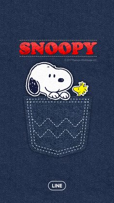 Denim snoopy
