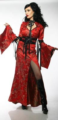 Lip Service Hollywood Geisha (2007) Typhoon From Tokyo Dress in Red