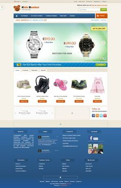 OPC060140 - Responsive OpenCart Kids Store Template