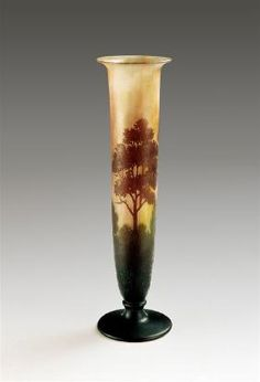 19th C. Galle Daum Nancy Vase
