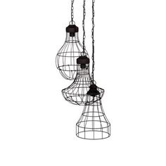 ACHICA | Industrial Wire Cluster Electrified Pendant Light