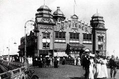 This is how Colwyn Bay pier used to look. The row about its future continues