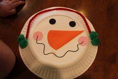 Free Preschool Christmas Crafts | Keeping it Simple: Tot Thursday: Paper Plate Snowman