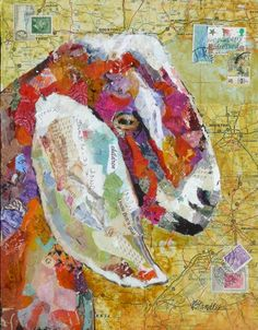 Nancy Standlee Artist Texas Contemporary Mixed Media Collage Art