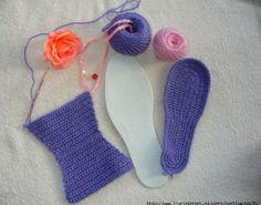 Sandales pour filles , pas  à pas en images !