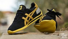 Onitsuka Tiger California 78 Vin Negras/Lemon Yellow