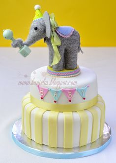 Circus Elephant Baby Shower