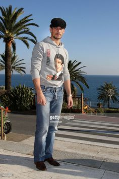 David Gandy attends the fourth evening of the 59th San Remo Song Festival at Ariston Theatre on February 20, 2009 in San Remo, Italy.